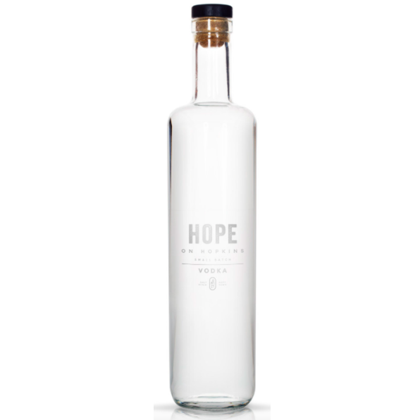 Hope on Hopkins Small Batch Vodka